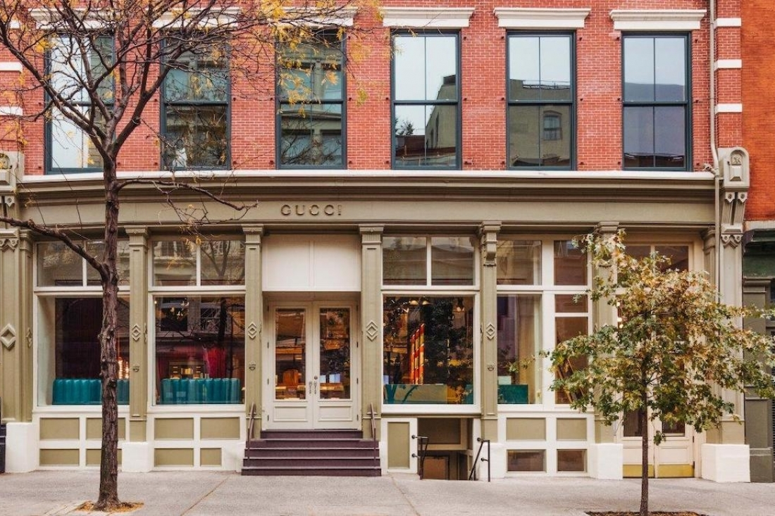 a29118d3a1c The Gucci Wooster Bookstore