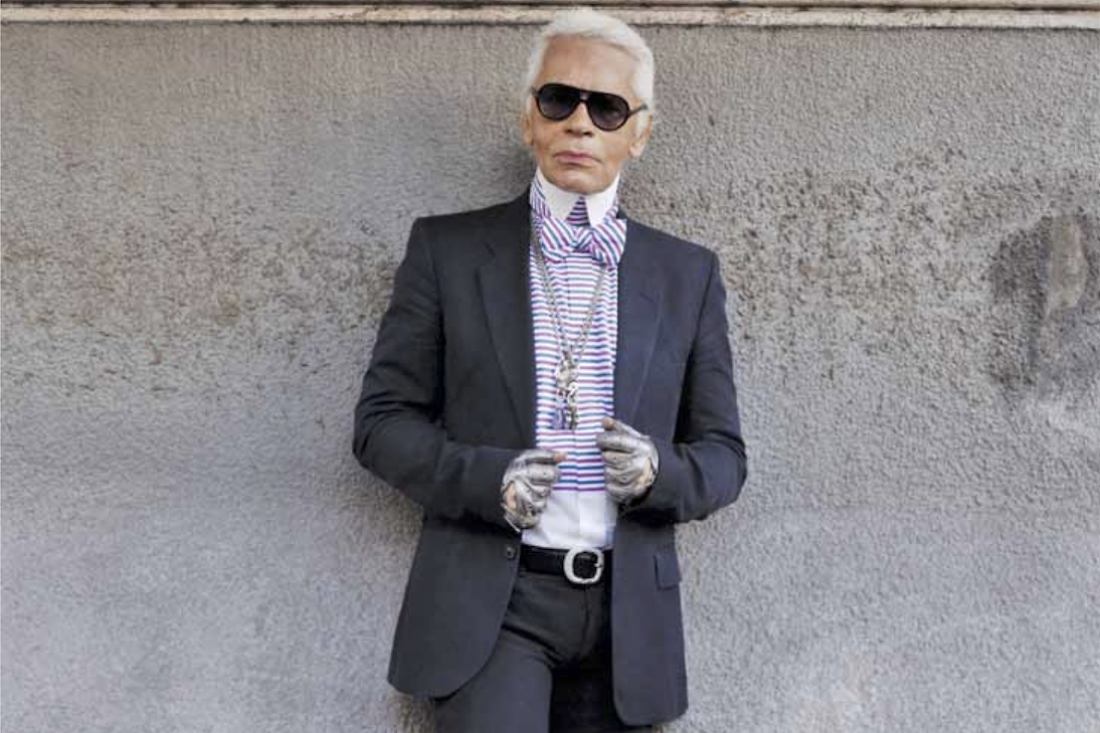 #Throwback Thursday with Karl Lagerfeld