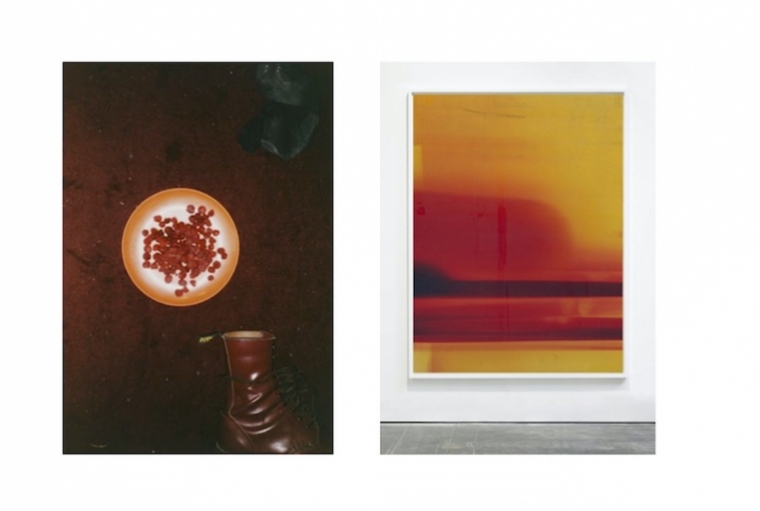 All Things Art: Roshini Vadehra L: Raspberries and Boot; R: Silver 180- both by Wolfgang Tillmans