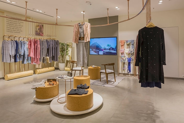 Anita Dongre Grassroot store at The Chanakya