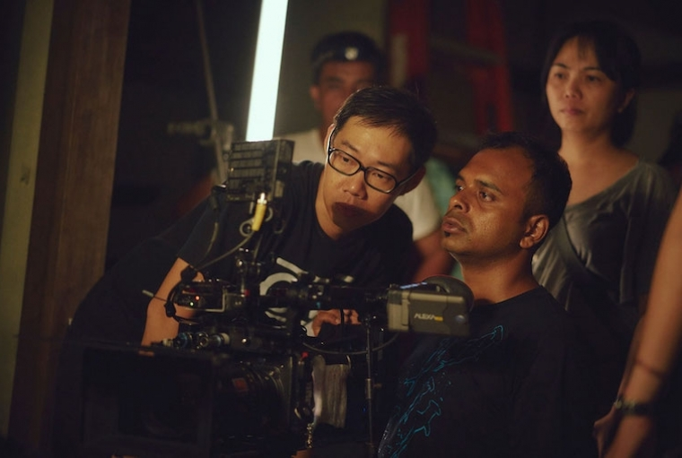 Behind the Moving Lens Pictured here with Tom Lin