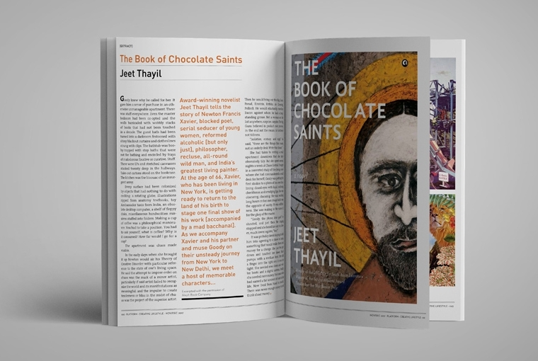 Inside Our Film Issue 2017 Jeet Thayil, The Book of Chocolate Saints