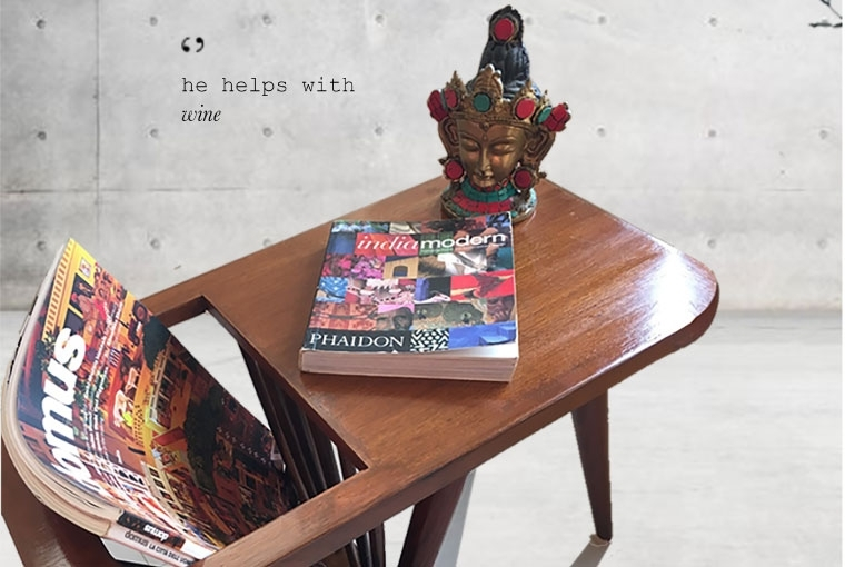 kalakaarihaath Handcrafted coffee table from Bas Ek Sut furniture line