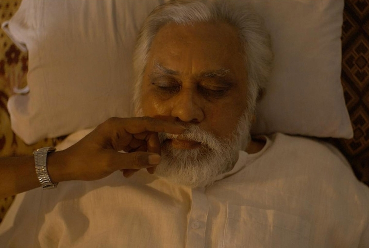 Shubhashish Bhutiani A still from Mukti Bhawan