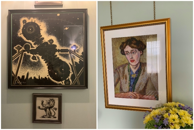 University Arms Hotel L: Art at the UA ; R: Cambridge Arms Art