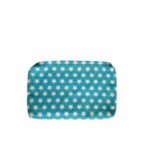 blue canvas Pouch Front